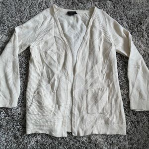 Pendleton Open Front Wool Angora Cardigan Sweater